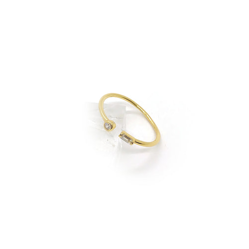 Astoria Clear Ring