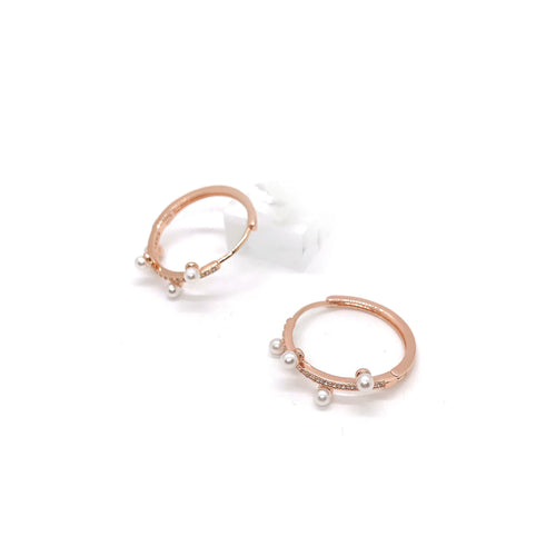 Guiza Rose Hoops