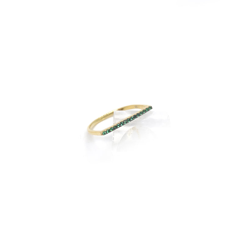 Gorgeous Pine Line Ring