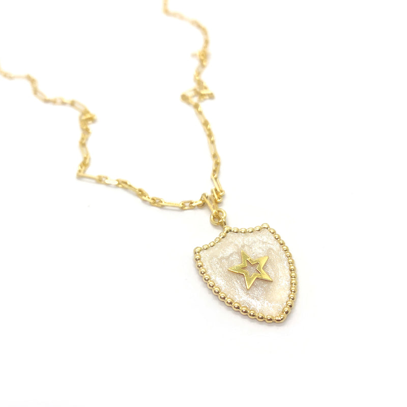 Star Badge Necklace - SALE!