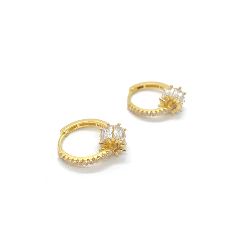 Ann Crystal Hoops
