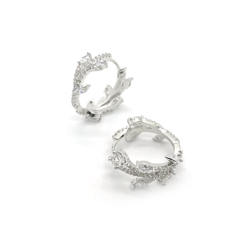 Banff Crystal Hoops