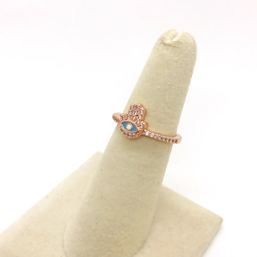 Rose Hand Ring II