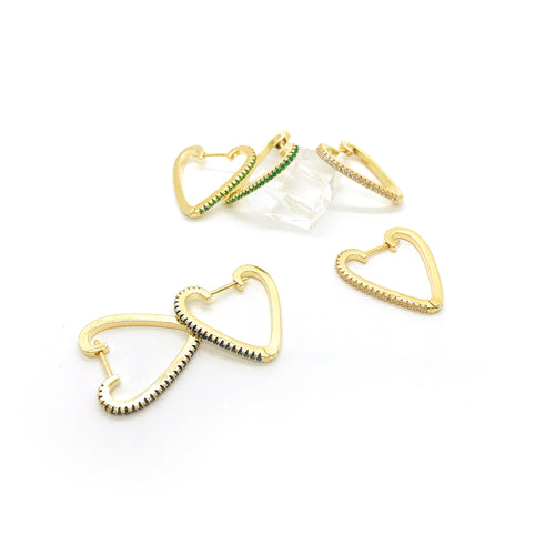 Fully Hearts Hoops