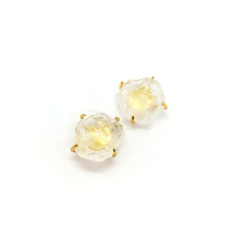 Grand Quartz Earrings