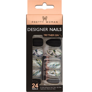 Pretty Woman 24 Designer Nail Kit - MN145