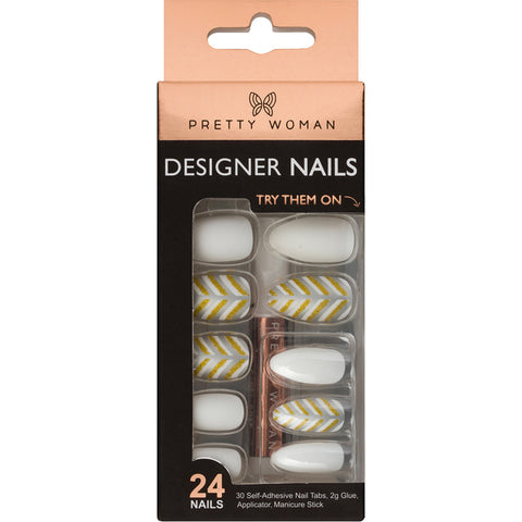 PRETTY WOMAN 24 DESIGNER NAIL KIT - PE579-1