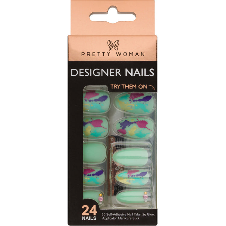 Pretty Woman 24 Designer Nail Kit - MNJN005