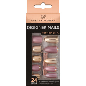PRETTY WOMAN 24 DESIGNER NAIL KIT - PE3D002