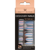 PRETTY WOMAN 24 DESIGNER NAIL KIT - PC0032