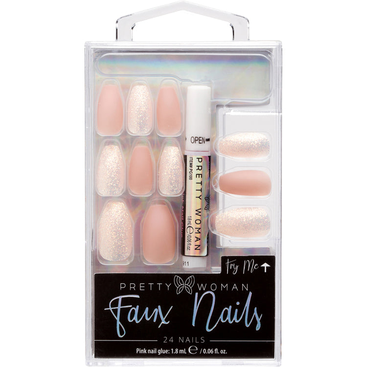 "PRETTY WOMAN ""TRY ME"" FAUX NAILS - MNV078CT"