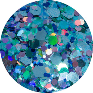 Aquamarine Body loose Glitter
