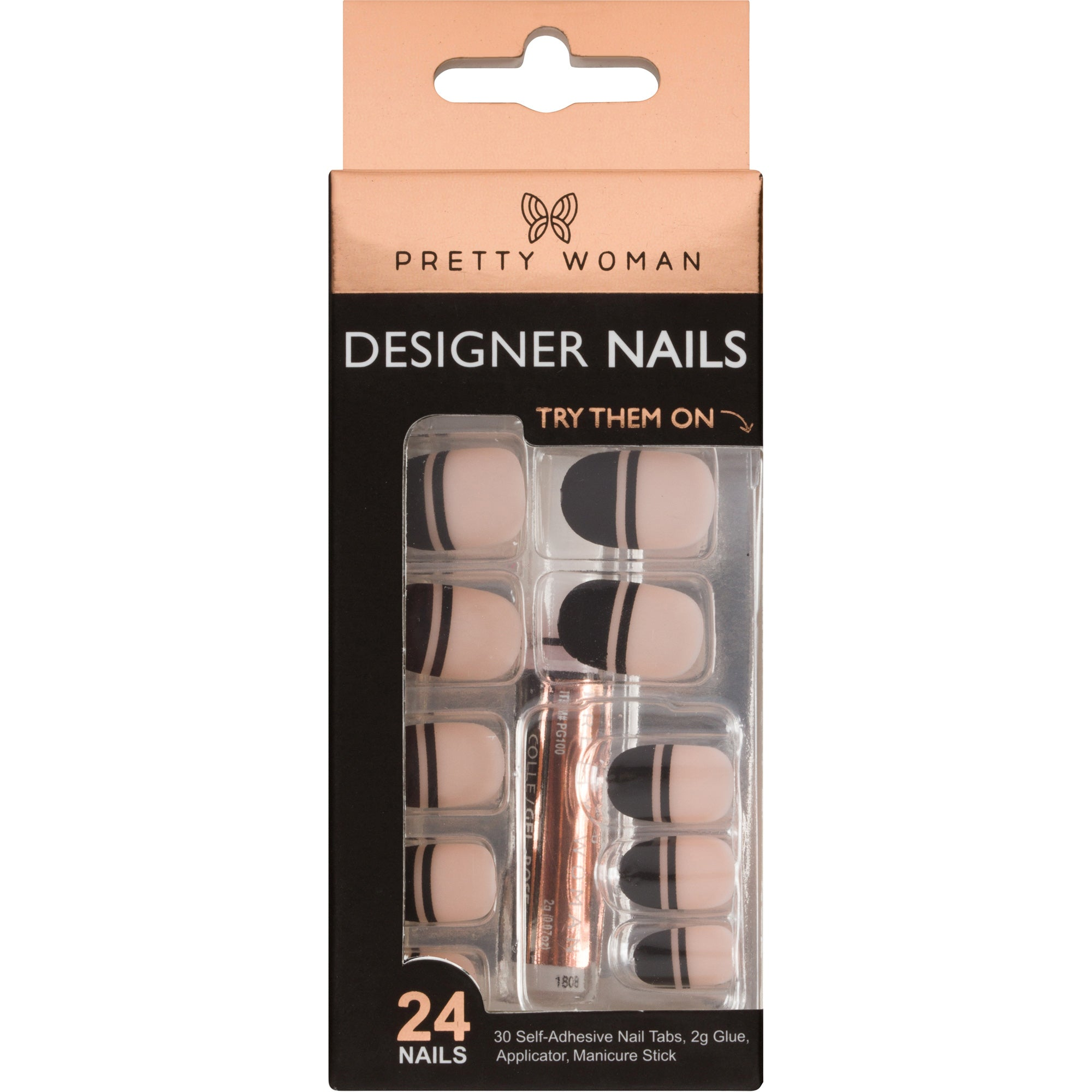 Pretty Woman 24 Designer Nail Kit - SOTN222