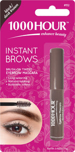 1000HOUR INSTANT BROW MASCARA - BLACK/DARK BROWN