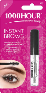 1000HOUR INSTANT BROW MASCARA - CLEAR