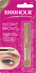 1000HOUR INSTANT BROW MASCARA - LIGHT BROWN/BLONDE