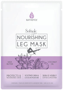 BATHEFEX SOFTSOLE EXPRESS NOURISHING LEG MASK