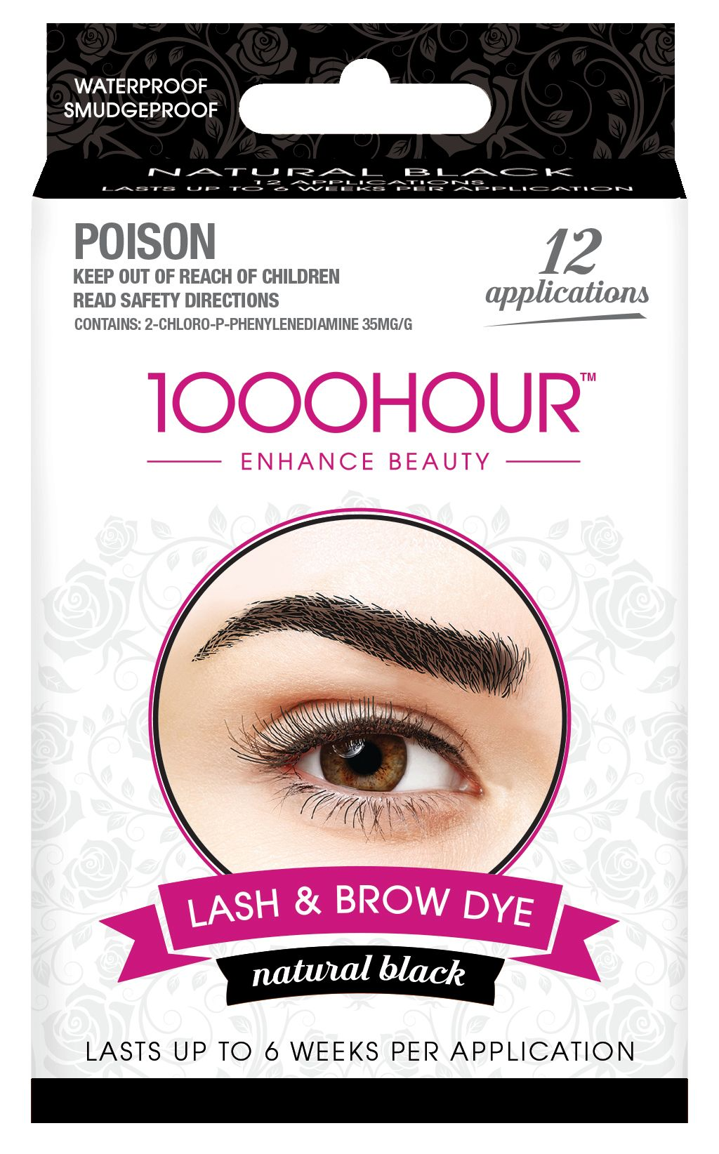 1000HOUR LASH & BROW DYE KIT - BLACK