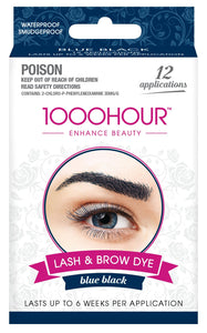 1000HOUR LASH & BROW DYE KIT - BLUE/BLACK