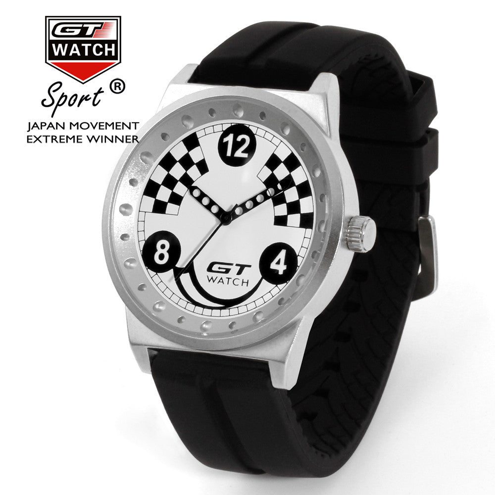 GT Checkered Flag Watch - ClutchKick.com
