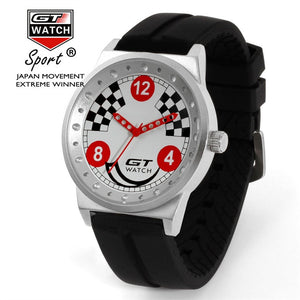 GT Checkered Flag Watch