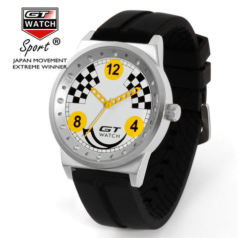Image of GT Checkered Flag Watch - ClutchKick.com