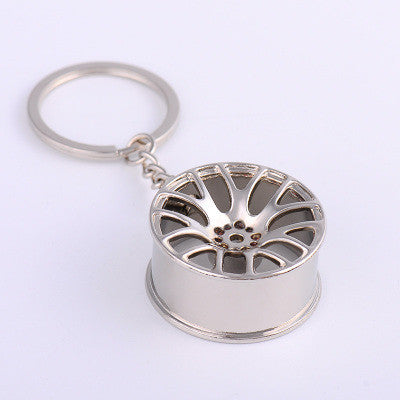 Image of Concave Wheel Keychain - ClutchKick.com