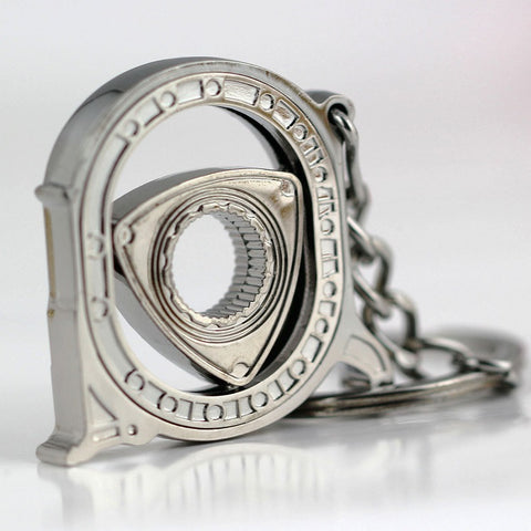 Open Face Rotor Engine Keychain - ClutchKick.com