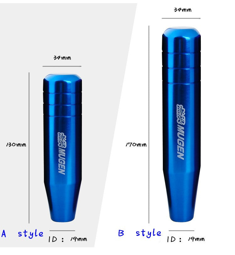 Extended Billet Aluminum Shift Knob 13cm and 17cm Lengths - ClutchKick.com