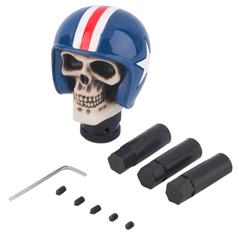 Image of Cafe Racer Skull Shift Knob - ClutchKick.com