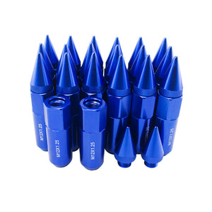 90mm Length Spike Anodized Aluminum Lug Nuts M12X1.25
