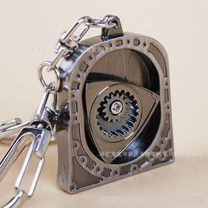 Closed Face Rotor Engine Keychain - ClutchKick.com