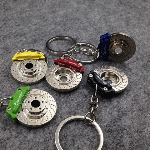 Image of Caliper and Rotor Keychain - ClutchKick.com