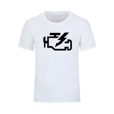 Check Engine T-Shirt - ClutchKick.com