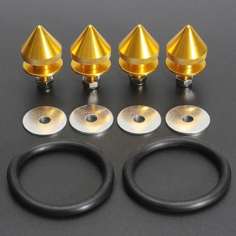 Image of Aluminum Spike Quick Release Fasteners - ClutchKick.com