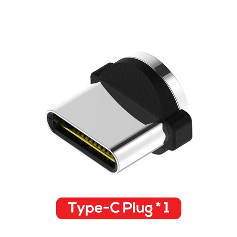 TOPK L-Line Magnetic Charging Cable ,90 Degree LED Cable for iPhone X 8 7 6 Plus & Micro USB Cable & USB Type-C USB C Cable - ClutchKick.com