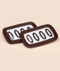 Bridle number holder 4 digit. - Mal Byrne Performance Saddlery