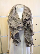 Treska | Wrap Sweater Scarf Brown