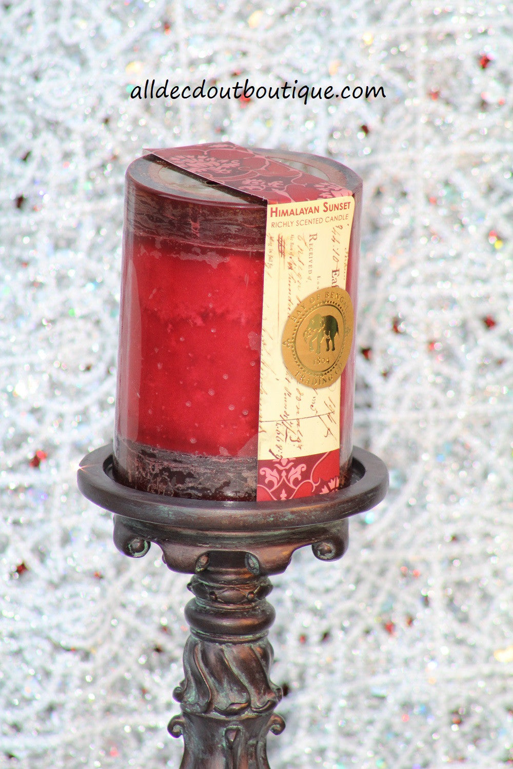 Pillar Candle 3 x 4 Himalayan Sunset