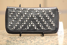 ADO | Bling Zip Clutch Wallet Black - All Decd Out