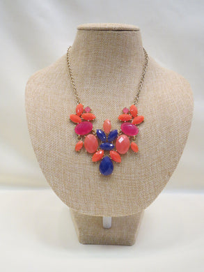ADO | Bib Necklace Multi Color - All Decd Out
