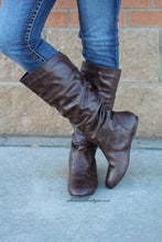 Bonnibel | Danniz Mid-Calf Slouchy Boot Brown