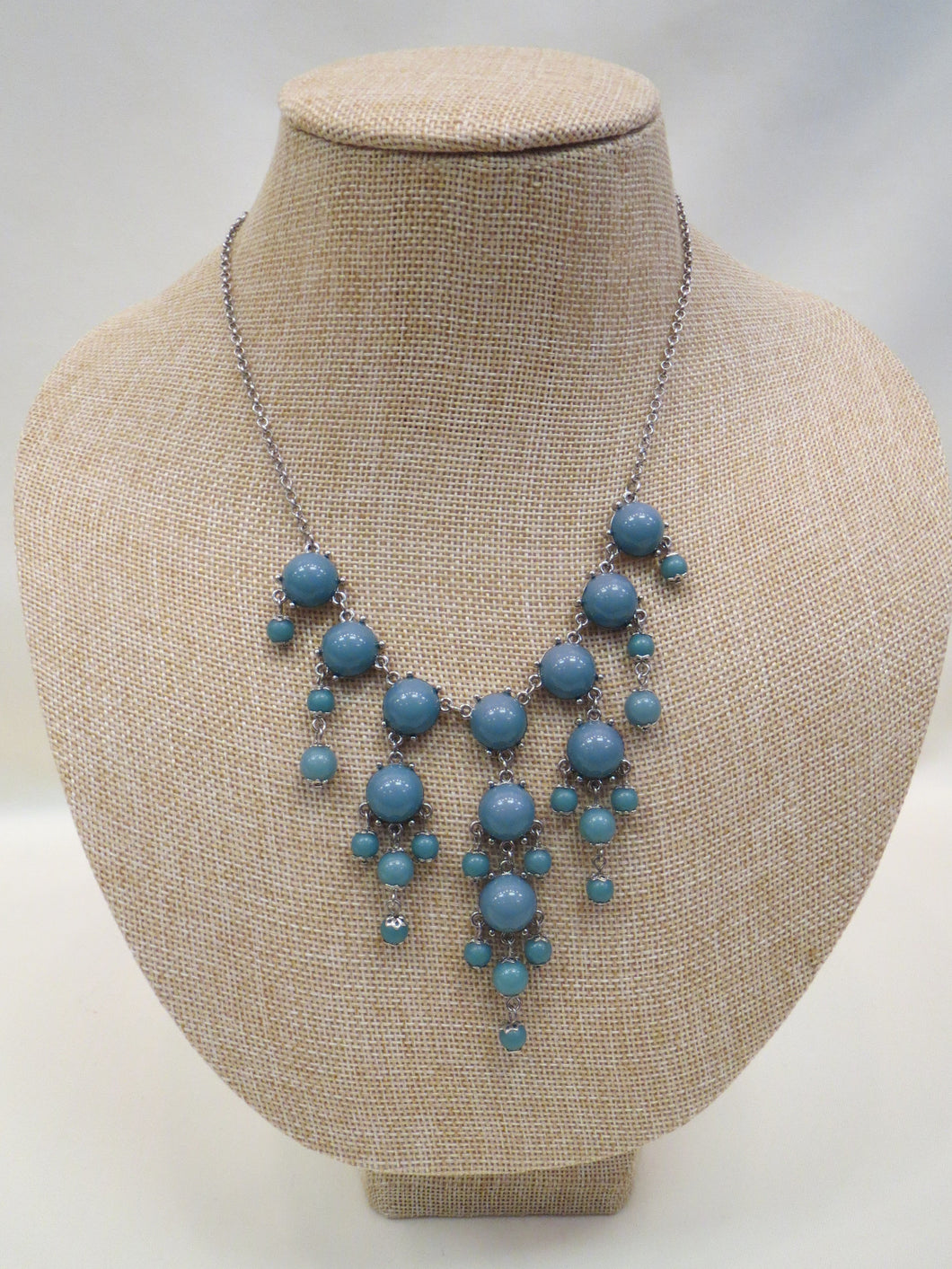 ADO | Bubble Necklace Turquoise Long - All Decd Out