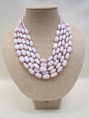 ADO | 5 Layer Pearl Necklace - All Decd Out
