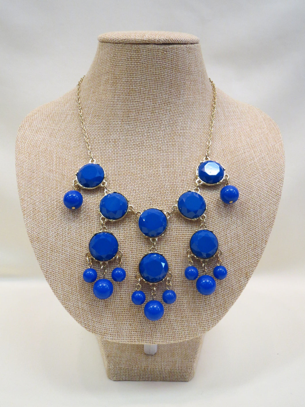 ADO | Bubble Necklace Royal Blue - All Decd Out