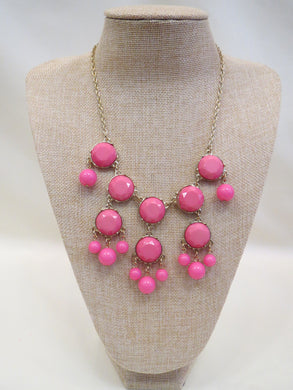 ADO | Bubble Necklace Pink - All Decd Out
