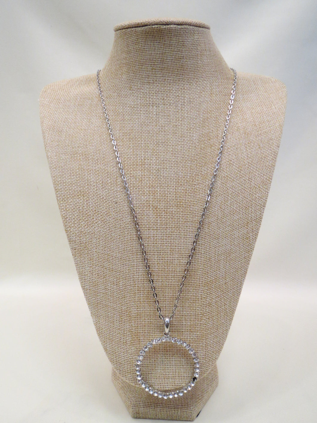 ADO | Crystal Circle Necklace - All Decd Out