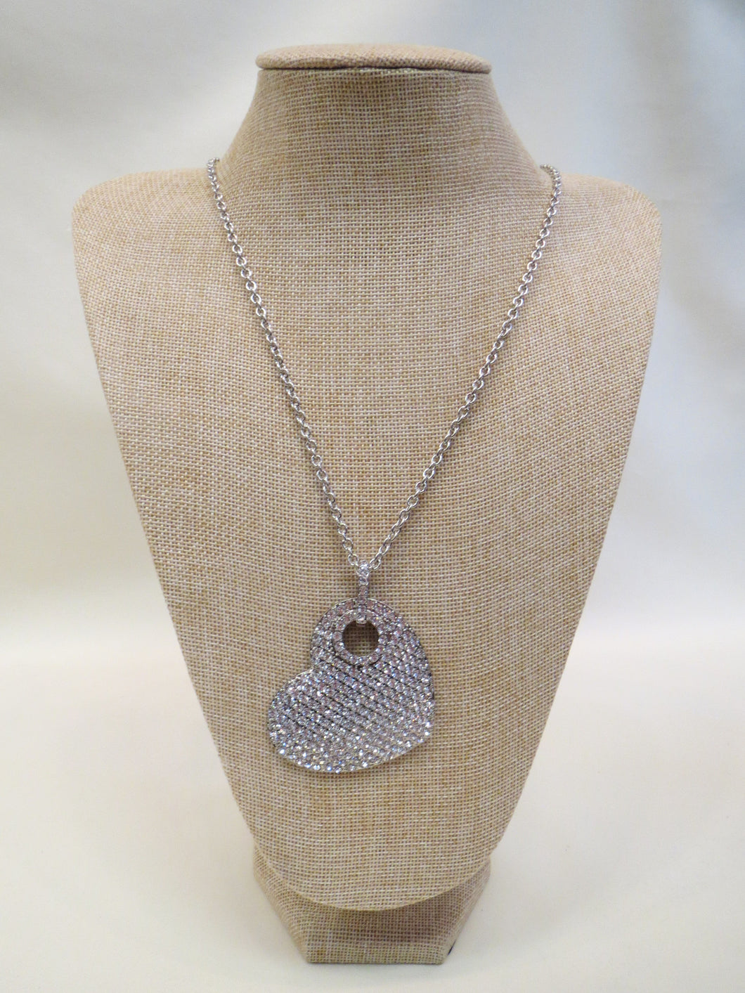 ADO Crystal Heart Necklace | All Dec'd Out