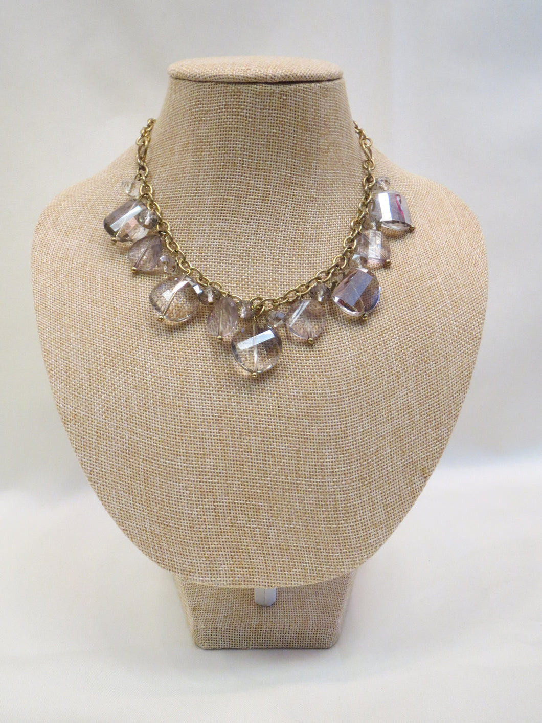 ADO | Crystal Gold Chain Necklace - All Decd Out
