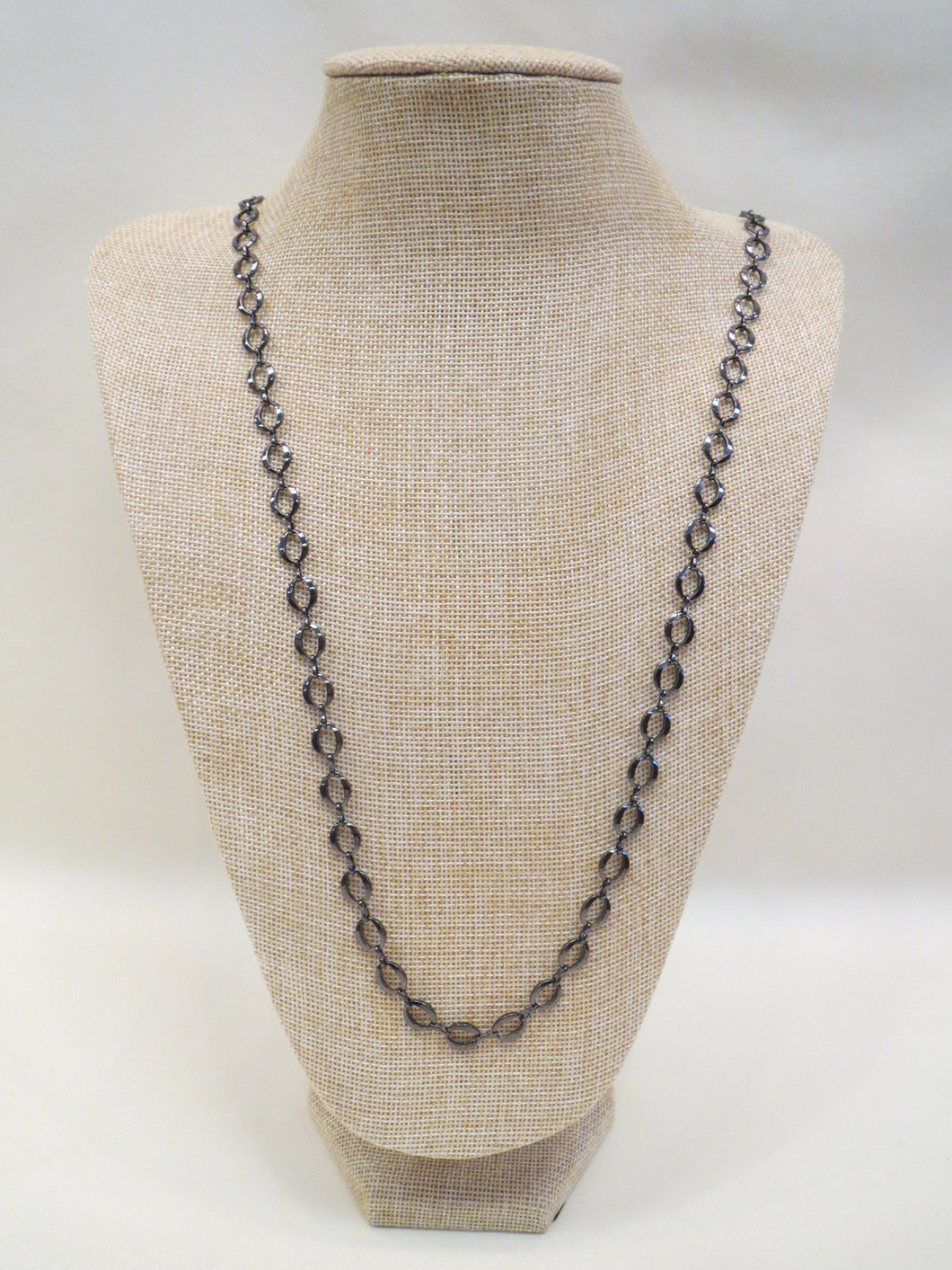 ADO | Gunmetal Chain Necklace - All Decd Out